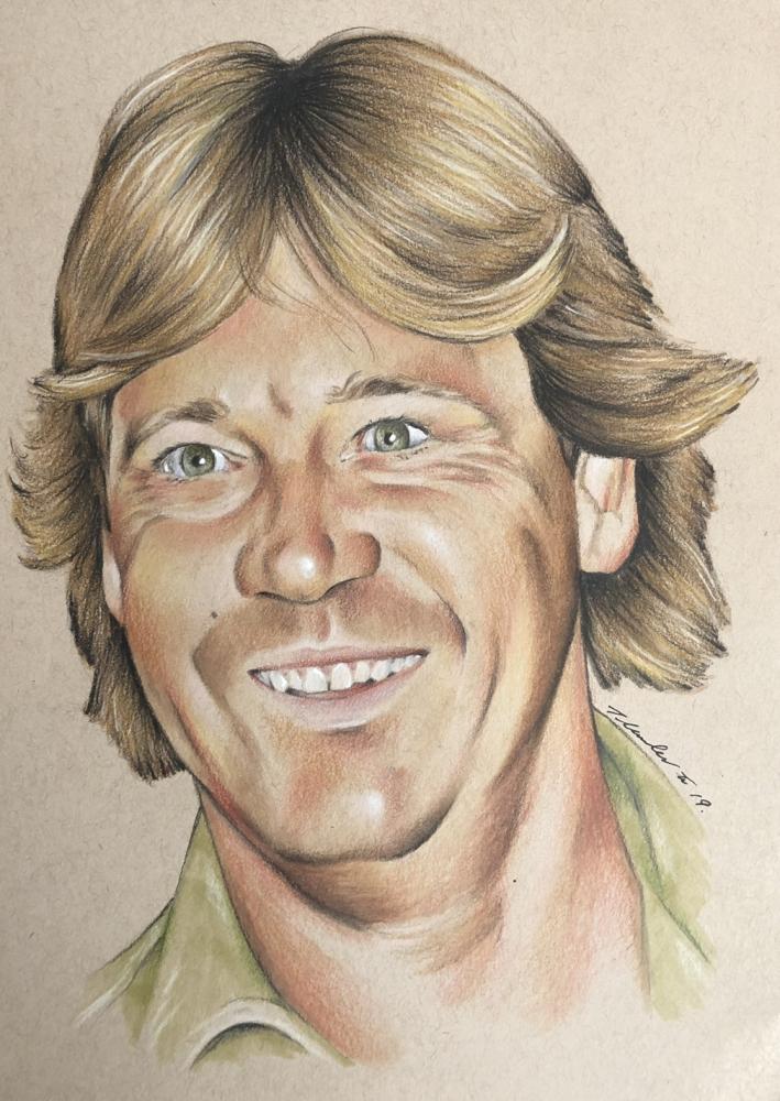 Steve Irwin by TraceyLawler